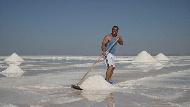 lake urmia salts