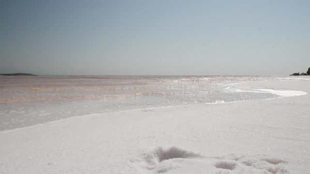 salt lake Iran